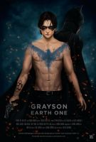 Grayson Earth One Poster by daniel-morpheus