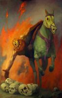 Behold a Pale Horse by jpacer