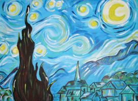 Starry Night by ToniTiger415