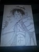 Monkey D Luffy : The King of the Pirates by gaarauchiha86