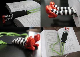 Wicked Witch of the East bookmark by sica1616