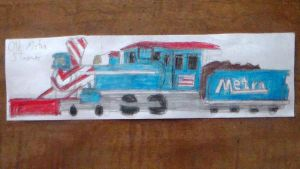Old Metra Steamer by TheMrtraintrack