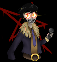 five nights at ghost animatronic by GhostRockstar