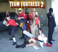 Team Fortress 2 Class Lineup by the-mandee-x