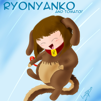 Ryonyanko and Tomato by Luvythicus