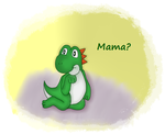 Baby Yoshi by Endivie11