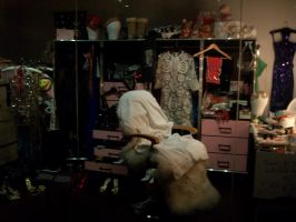 Kylie Minogue's Dressing Room by hot-stuff123