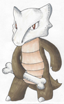 Marowak starts with the letter M by WolfStarmie