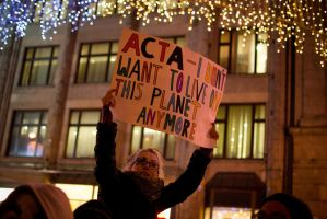 Anti ACTA protest - Wroclaw by DamianMekal