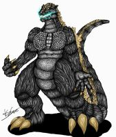 JLKE Godzilla Color by Alex-KZG