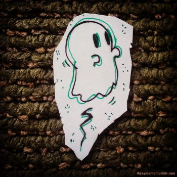 Ghostie by THEEPICARTIST8