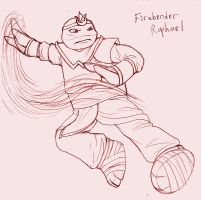 Firebender Raph by KuramaLoverBunny