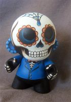 Day of the Dead Mini Munny #1 by ReverendBonobo