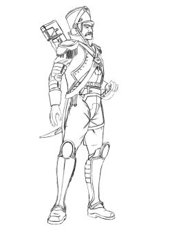 Melophanese Imperial Guard (regular) by Olaf-Fredericson