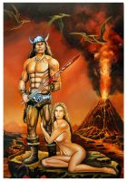 Conan the Destroyer by Chrisroma