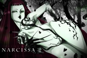 FT oc - Narcissa ~ Deadly Beauty by SophieScarlet