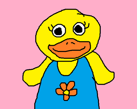 Tillie the Duck from Tillie Knock Knock by MikeEddyAdmirer89