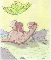 The Land BeforeTime:Littlefoot by fredvegerano