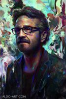 Marc Maron Portrait by AldoK
