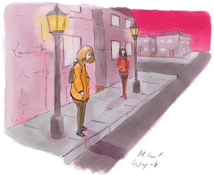 Lampposts by OneLastSketch