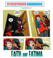 Faith and Fatima by StickyMon