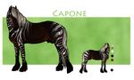 .:Capone:. by BrindleTail