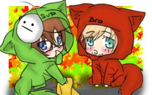 Bloody Trapland - Pewdie and Cryoatic by Kyun-Sein