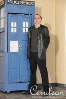Doctor Who Photoshoot: The ninth Doctor by StrangeStuffStudios