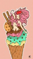 ice cream_colour by DaftDollAlice