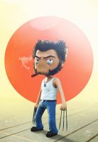 Wolverine Chibi by Dmaghar