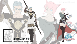 FFXIV Realm Reborn Commission WiP by ltkworks