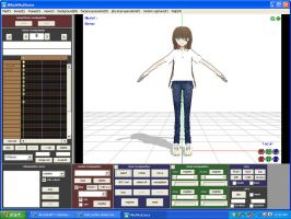 Trying to make my own MMD model :D by Ask-HetaoniShina