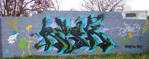 Resk2 2014 1st wall by unamedplayer