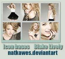 Icon bases - Blake Lively by Natkawes