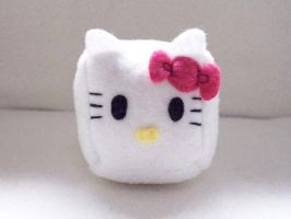 Hello Kitty Cube Plushie by JeffSproul
