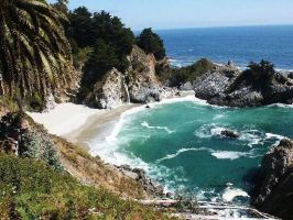 Near Monterey and Big Sur by Riley122876