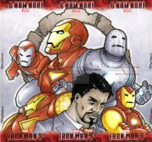 Iron Men by theopticnerve