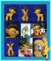 Trowa Crossover Plushie by Meowplease