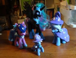 Custom ponies, round 5 by stripeybelly