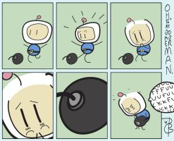 OH THAT BOMBERMAN by thebrickgoat