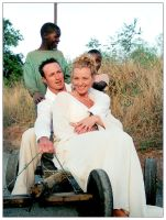 Hearts In Africa by exoart