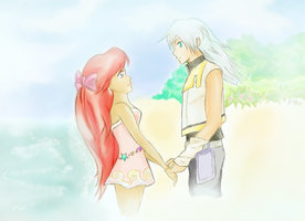 Kiss the Girl, Riku by kadaj-strife