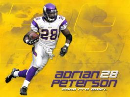 Adrian Peterson 5 by Schultzy0023
