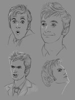 9002 Doctor Who faces 2 by harbek