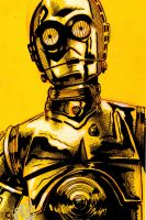 Pre Sci fi Expo C3PO by Barnlord