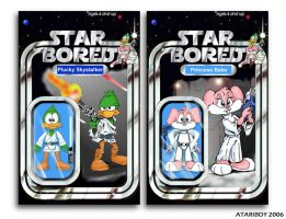 Star Bored Actions Figures. by Atariboy2600