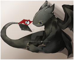 Toothless HTTYD by PeteyXkid