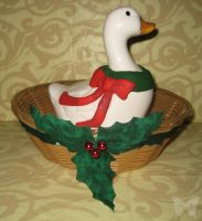 Christmas Duck from Gone Home by confidentsoba