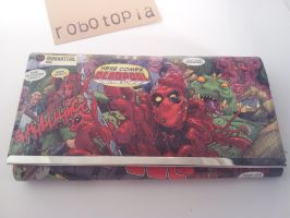 Deadpool Clutch Purse by plus-nothing