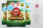 Easter Party Flyer by Minkki2fly